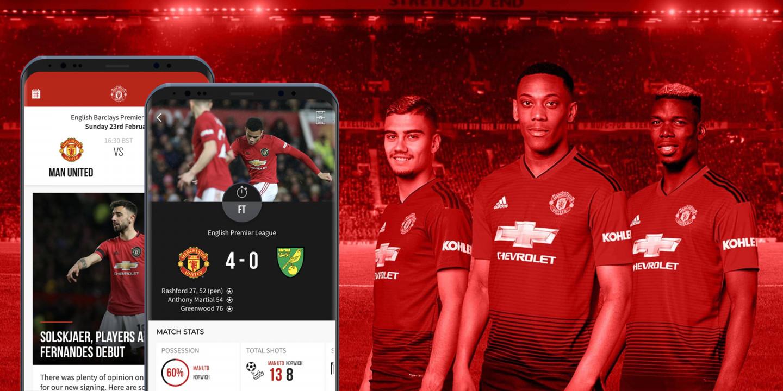 Dedicated sports app
