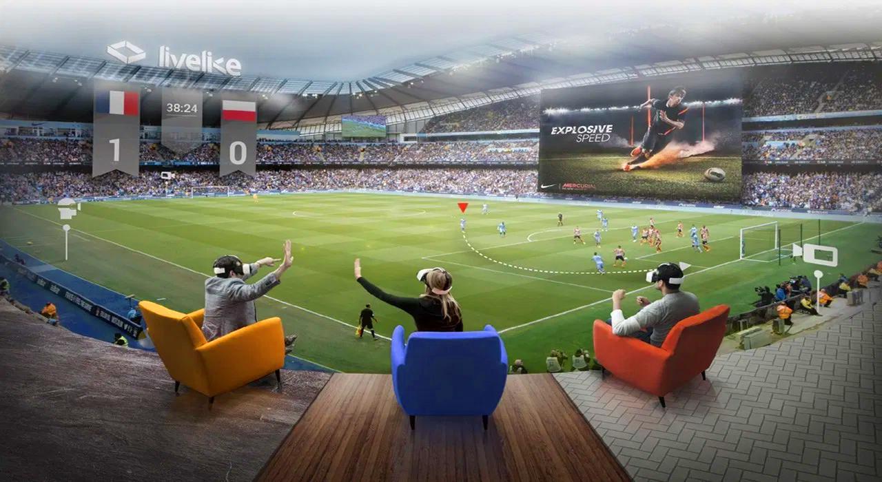 Virtual reality (VR) sports app
