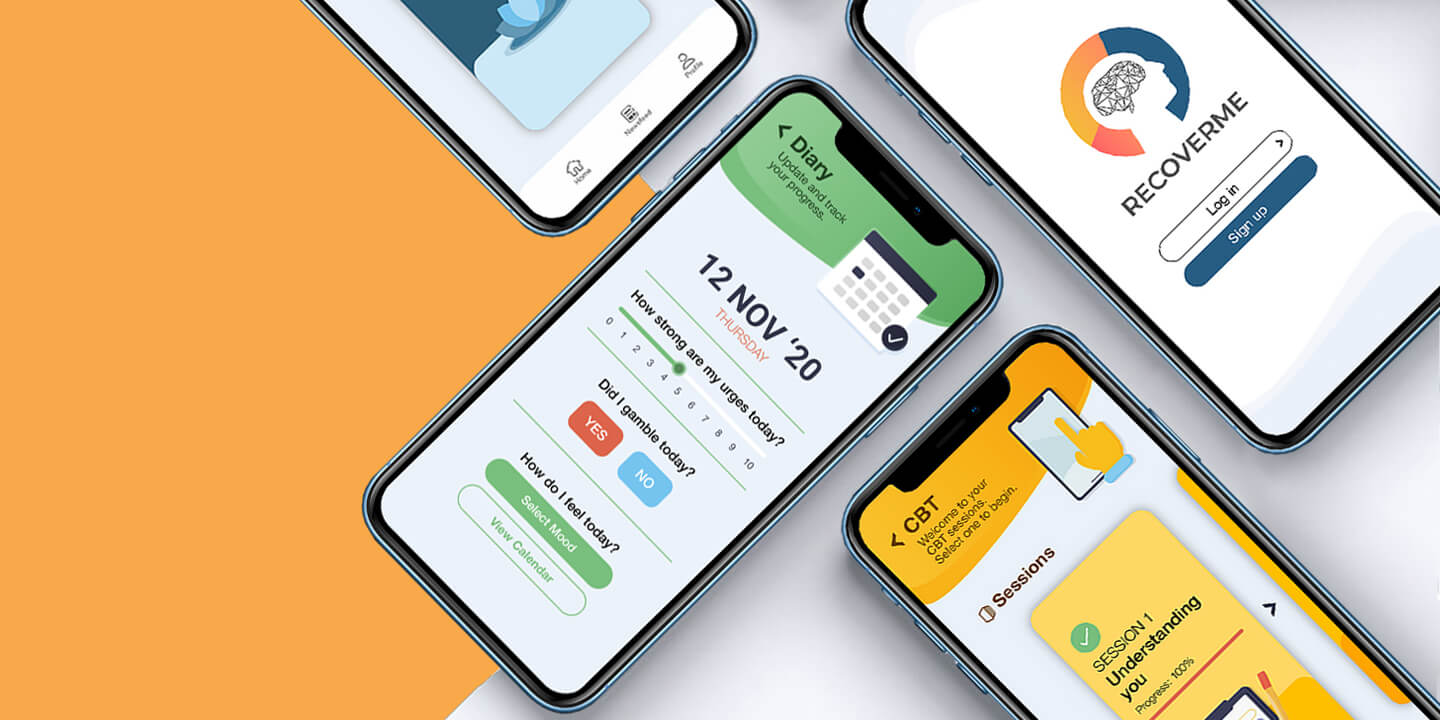 RecoverMe mobile app
