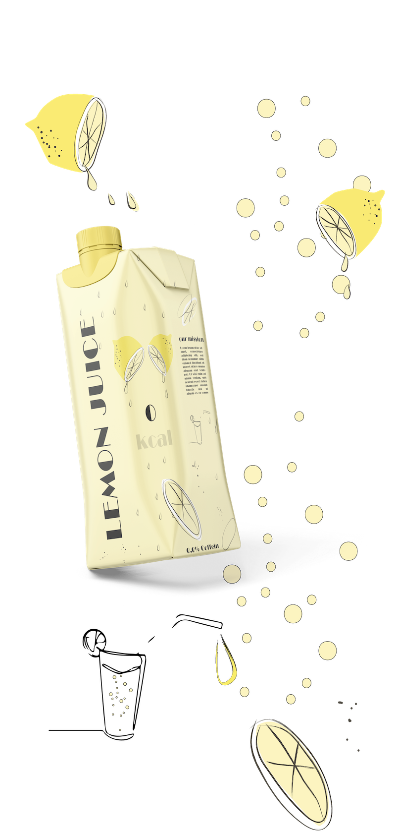 Packaging Design - Limonade