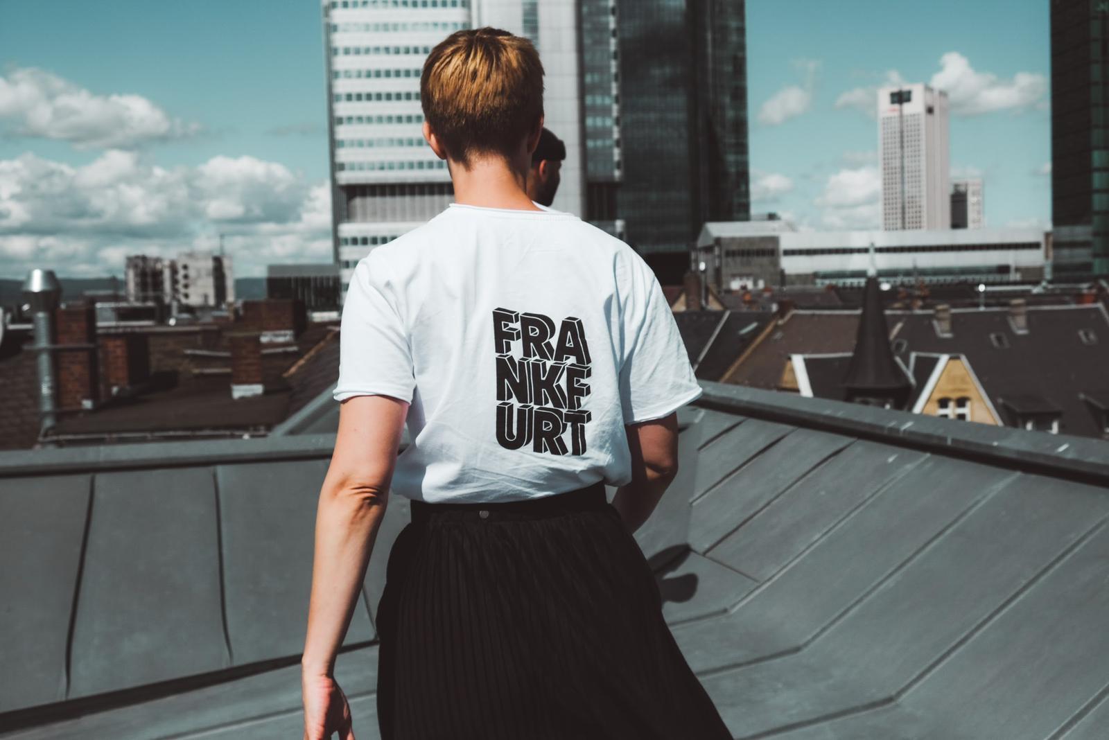 T-Shirt Frankfurtdubistsowunderbar