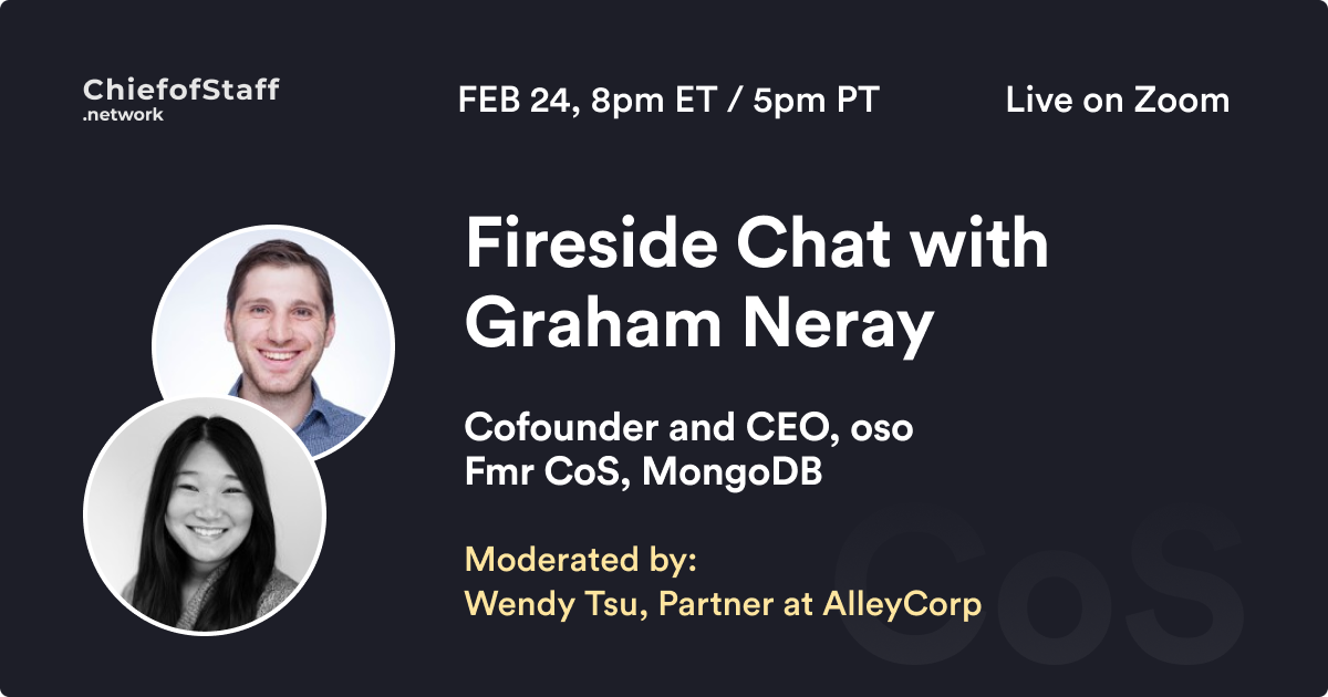 Fireside Chat with Graham Neray