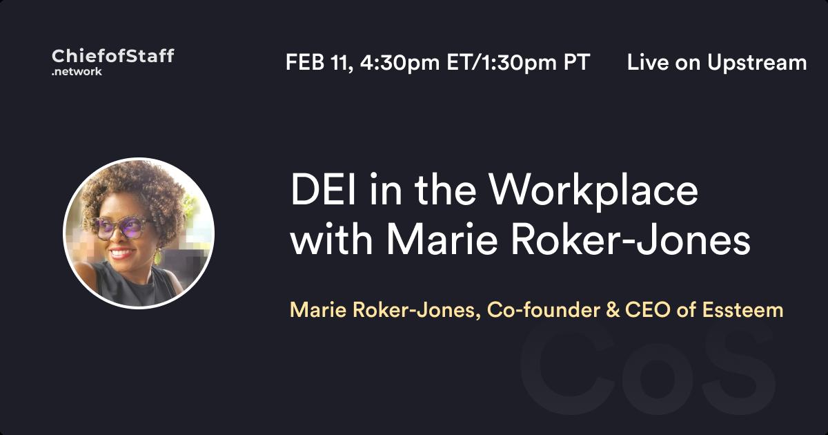 DEI in the Workplace with Marie Roker-Jones
