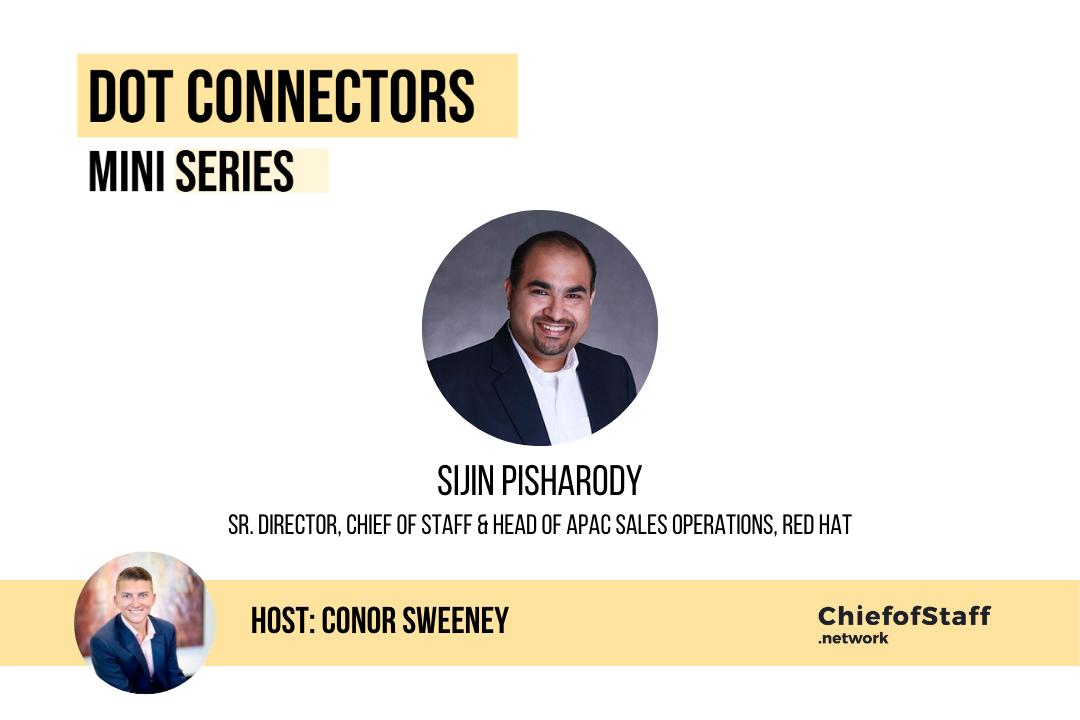 Dot Connectors Ep 4, Sijin Pisharody, CoS at Red Hat