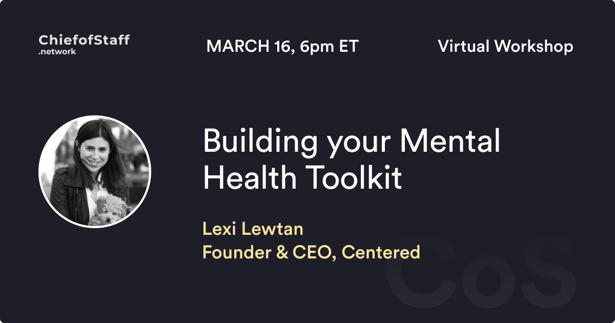 Building Your Mental Health Toolkit