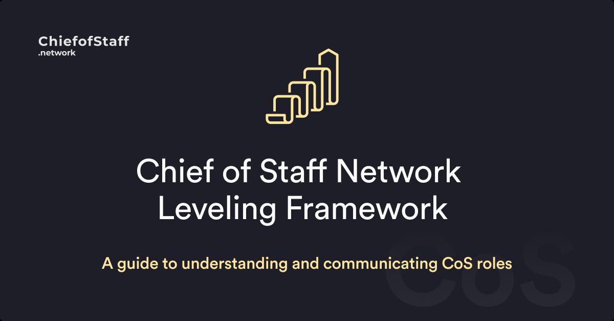 Chief of Staff Leveling Framework