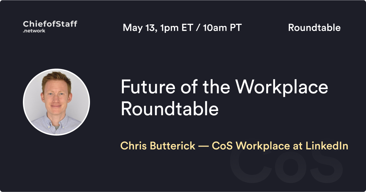 Future of the Workplace Roundtable