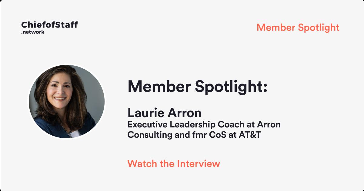 Member Spotlight: Laurie Arron