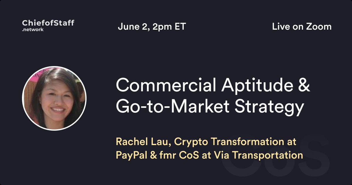 Commercial Aptitude & Go-To-Market Strategy