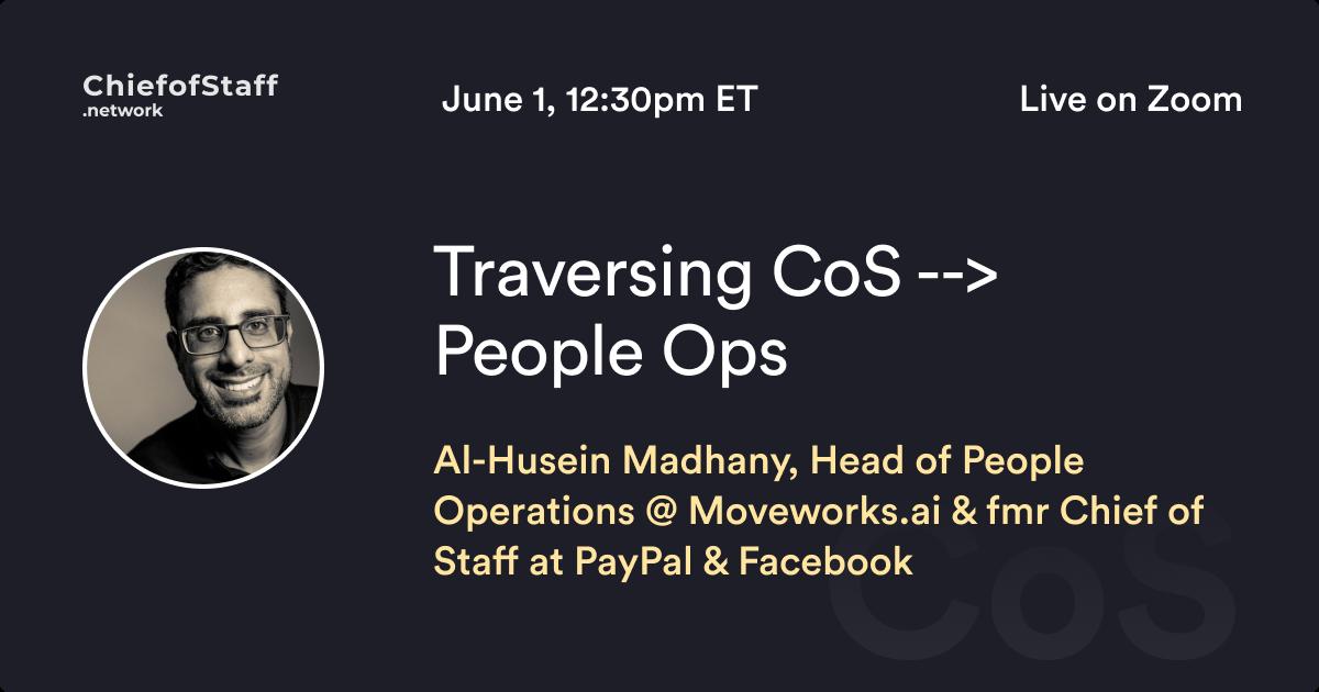 Traversing CoS > People Ops