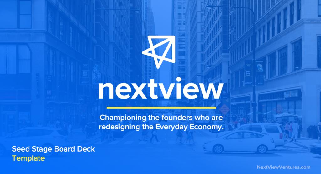 Startup Board Meeting Deck