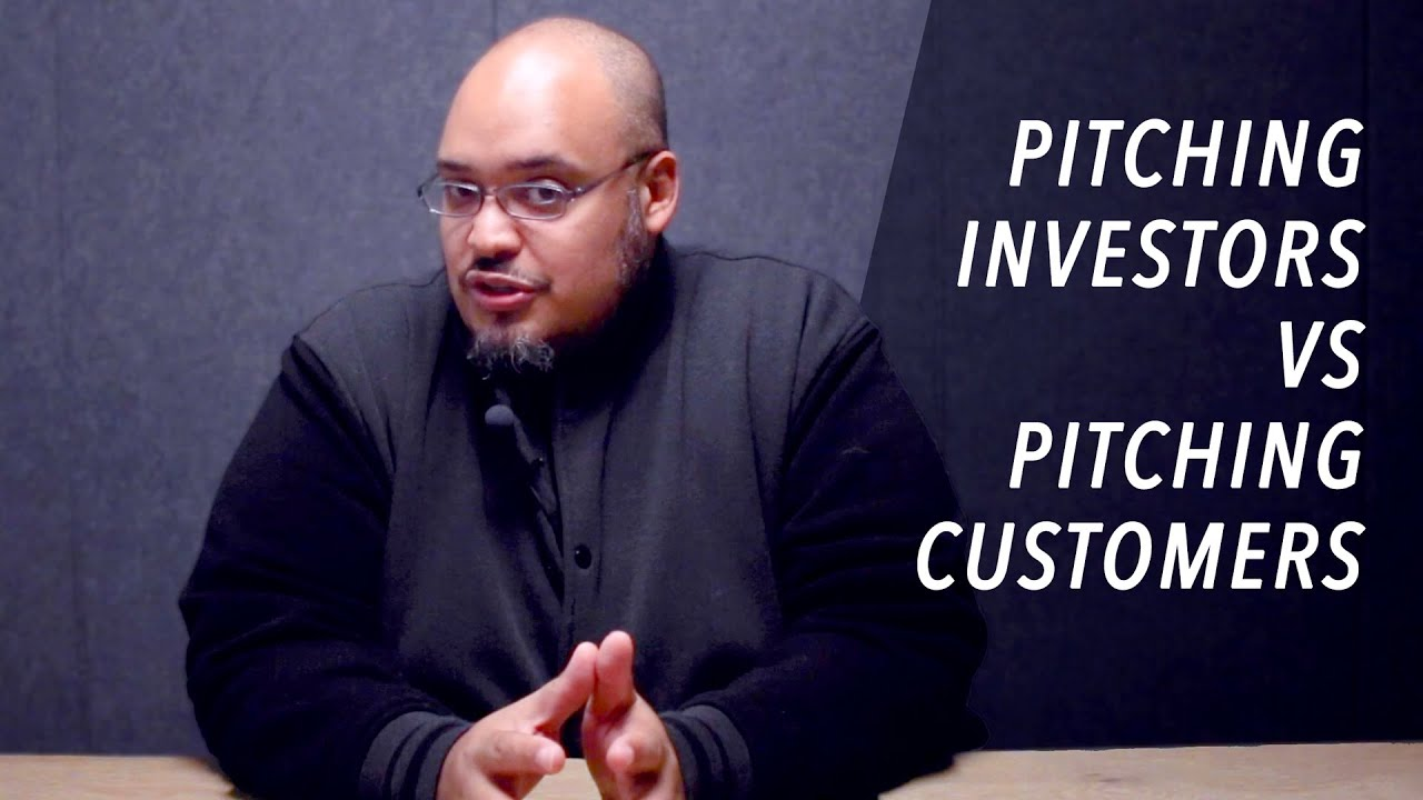 How Pitching Investors is Different Than Pitching Customers
