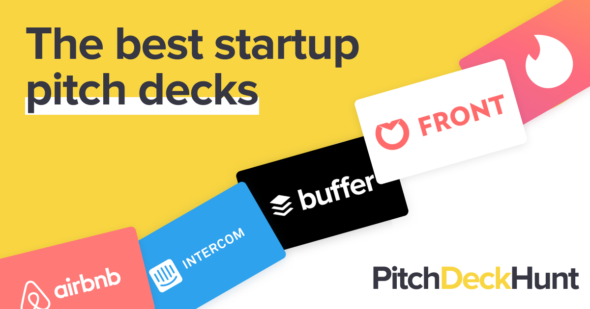 The Best Pitch Deck Examples