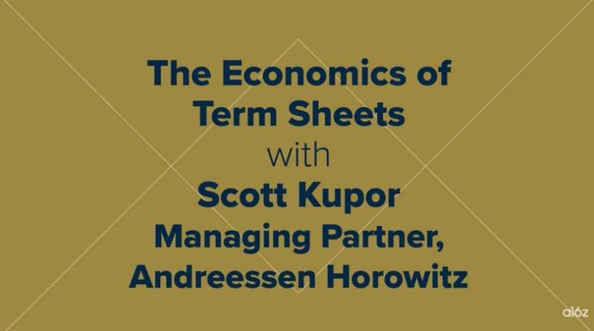 The Economics of Term Sheets