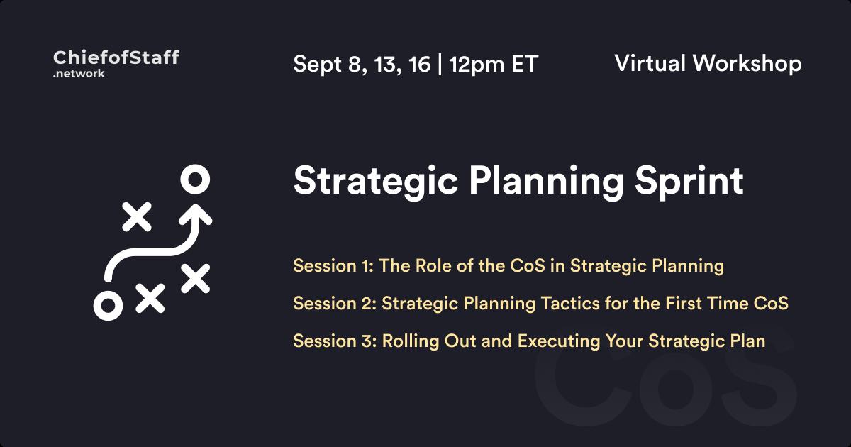 Strategic Planning Sprint