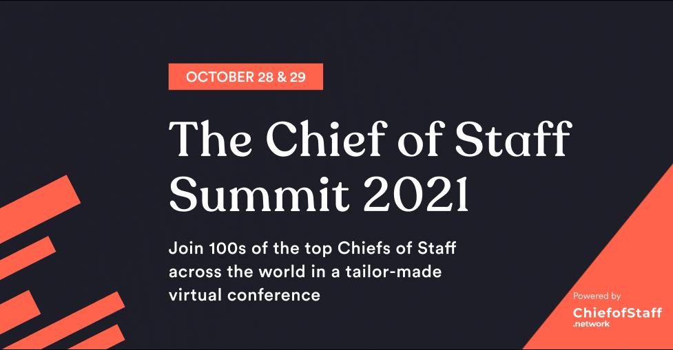Chief of Staff Summit