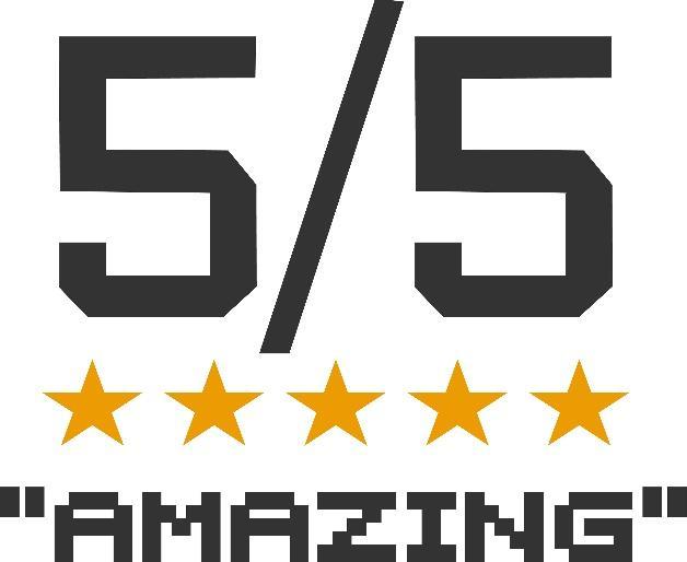 5/5 four stars 'amazing'