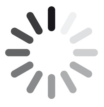circular page loading symbol