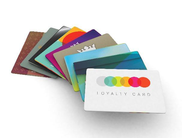 an array of credit and loyalty cards
