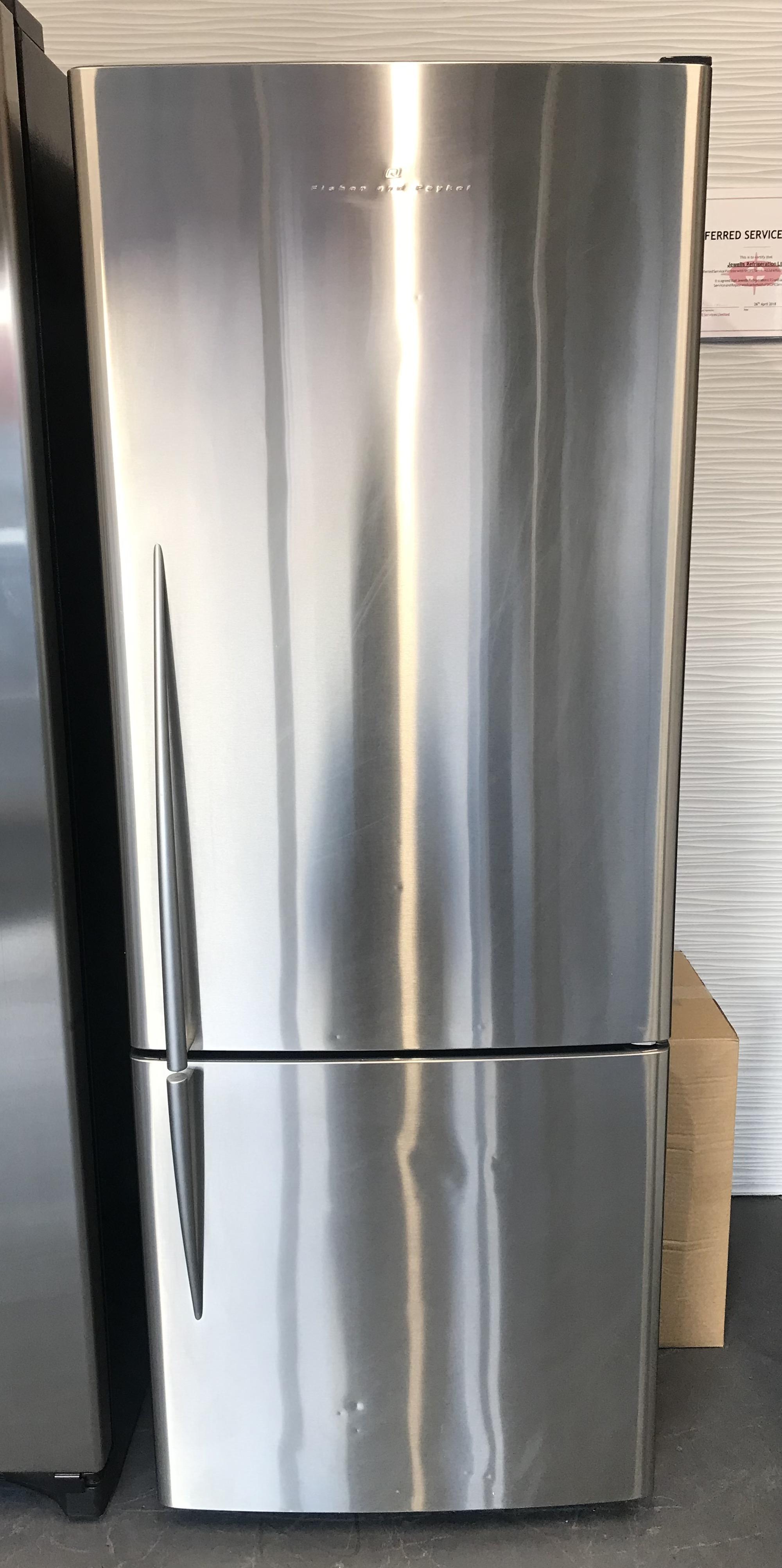 Stainless Fridge/Freezer