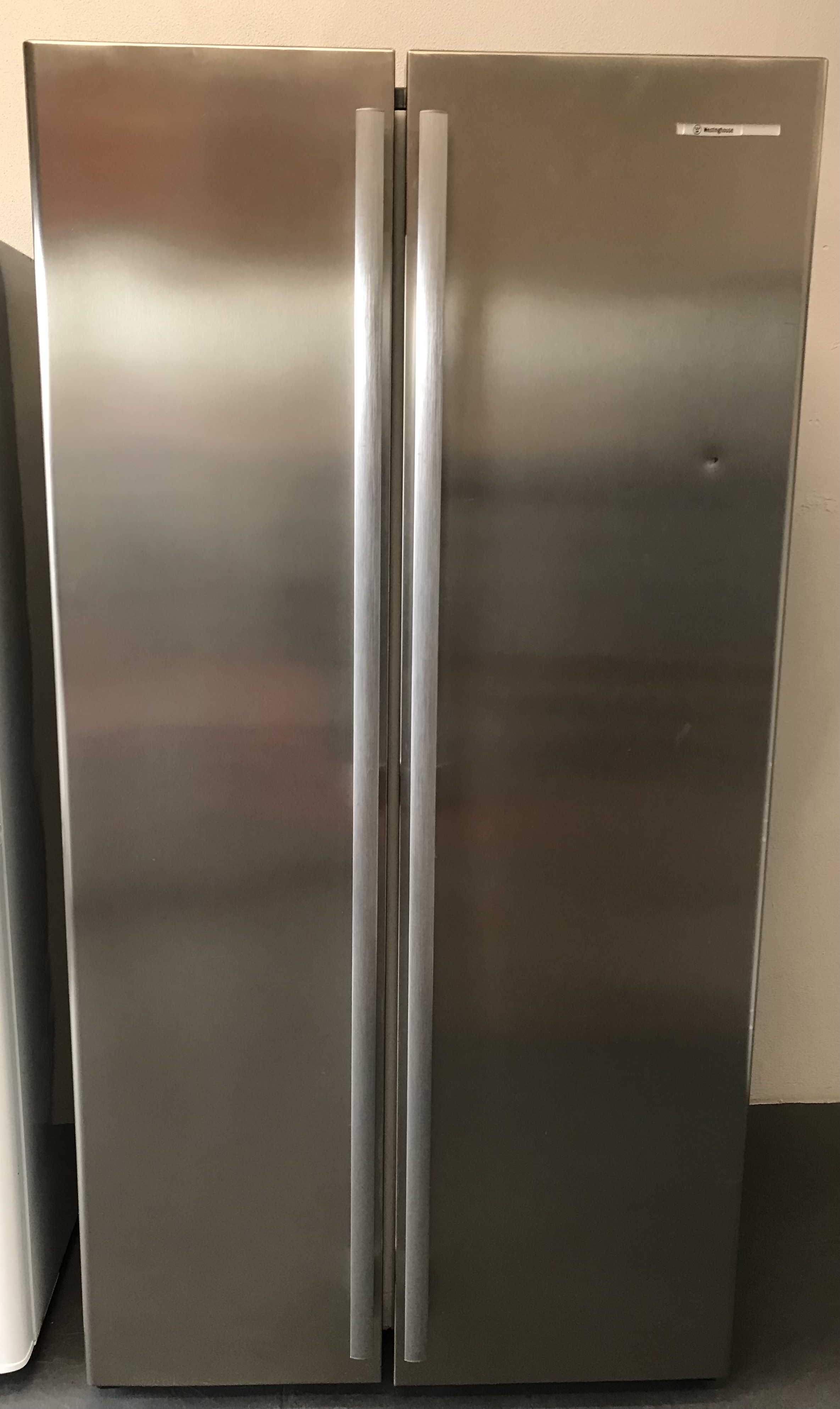 Stainless SxS Fridge/Freezer