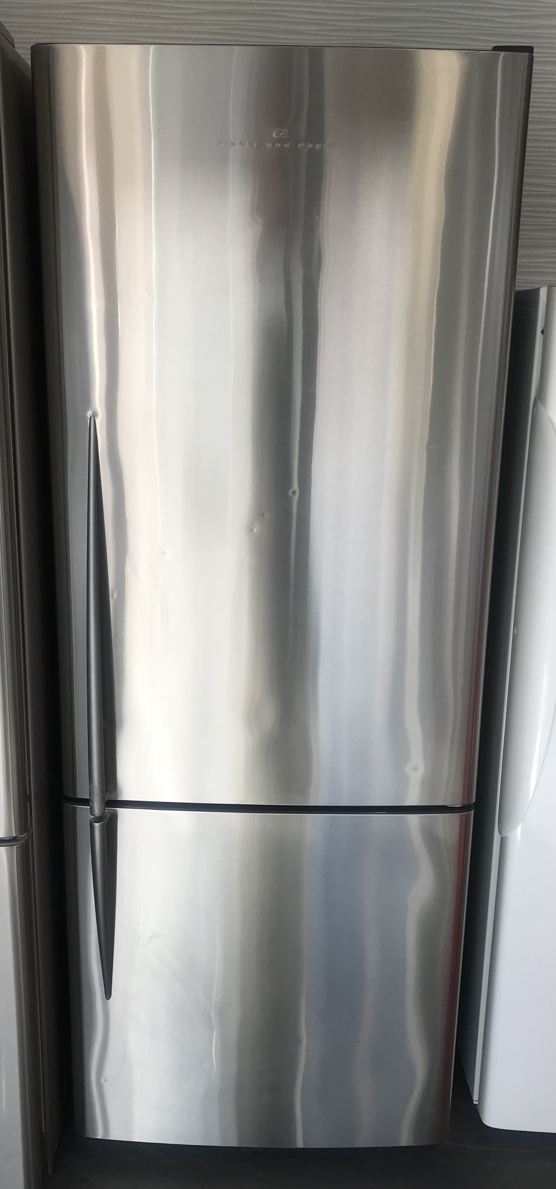 F&P Stainless Fridge/Freezer