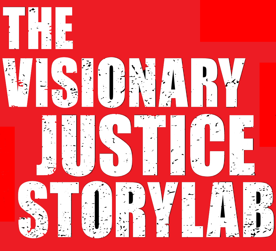 The Visionary Justice Storylab Logo