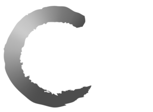 KCCI Logo Black and White with White Text