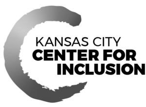 KCCI Logo black and white with black text