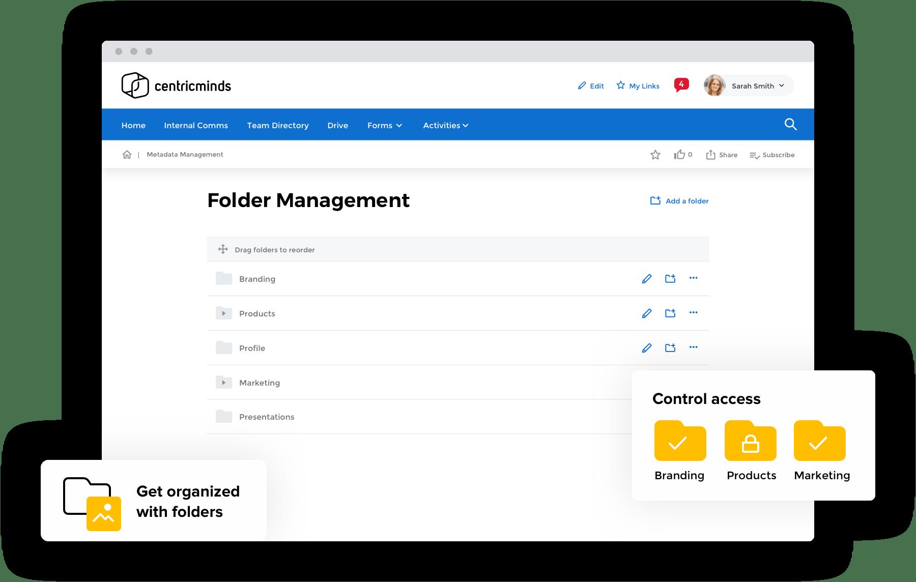 CentricMinds Digital Asset Management Software