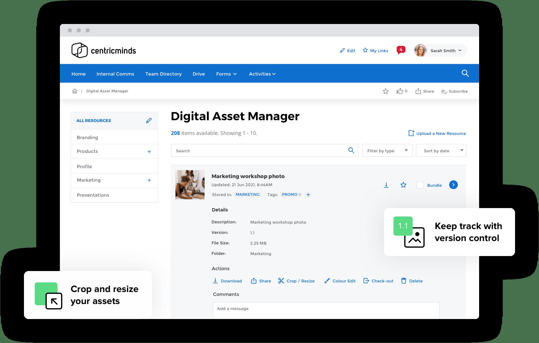 CentricMinds CentricMinds Digital Asset Management Software