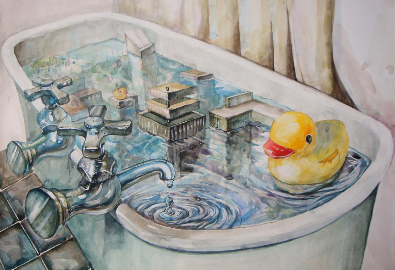 Bathtub world concept