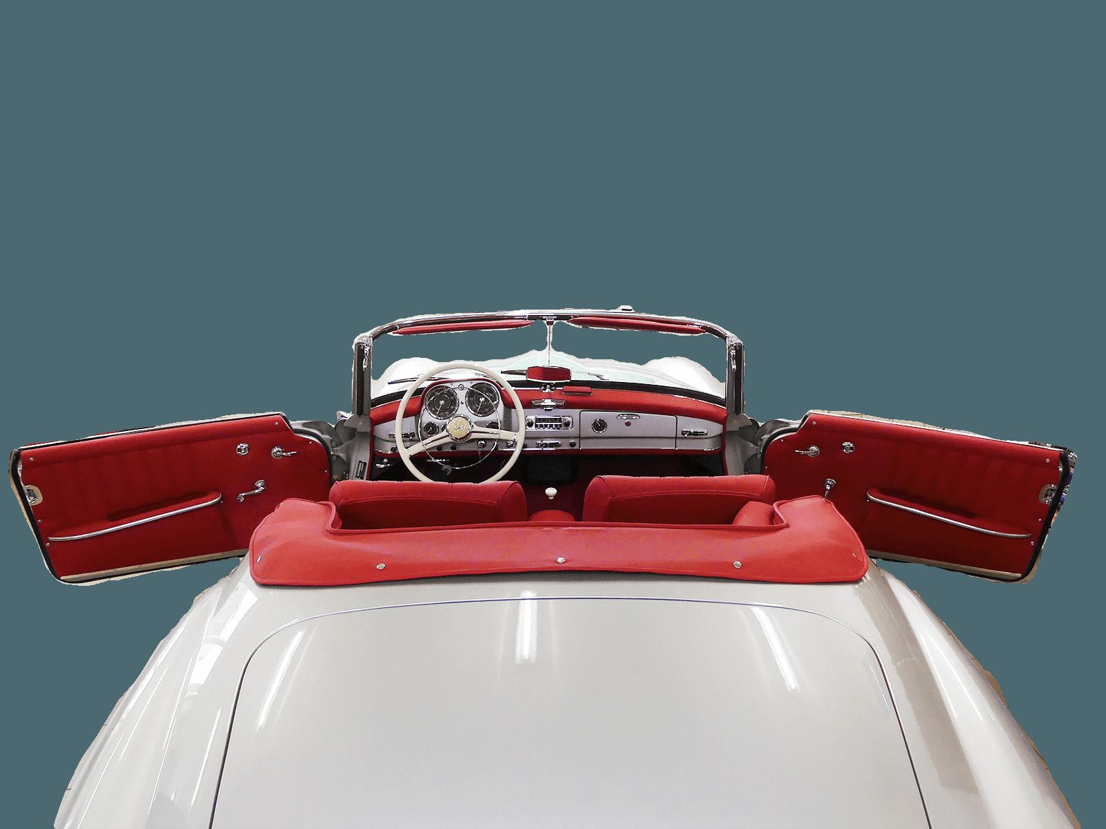 Oldtimer Classic 190SL Grau / Rot 1