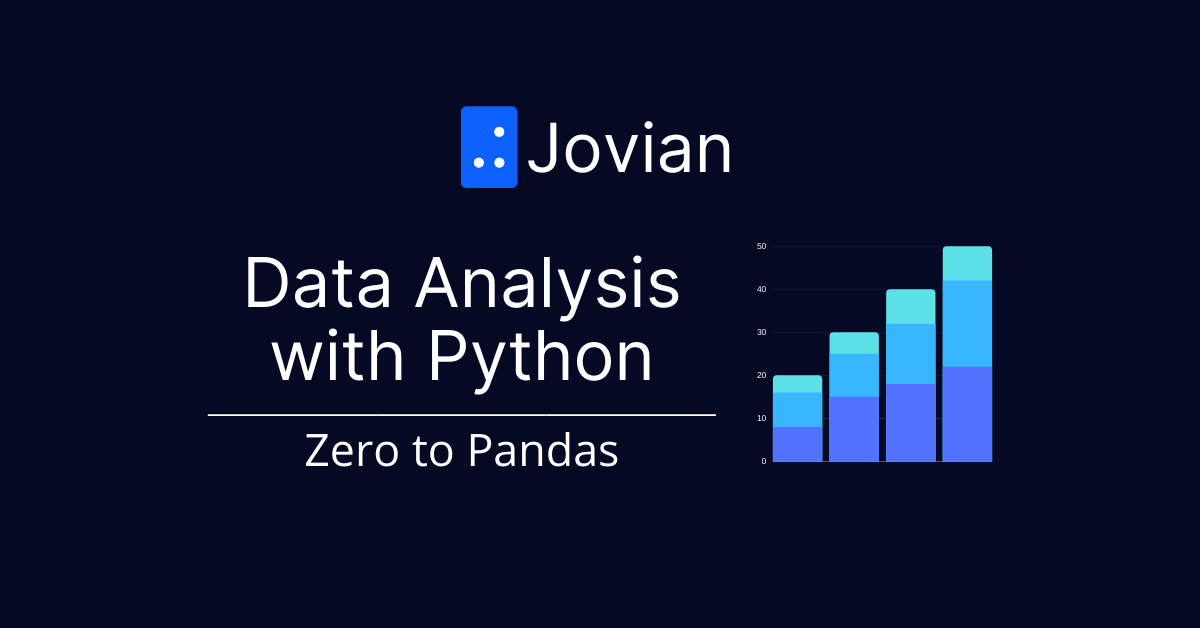 Data Analysis with Python: Zero to Pandas
