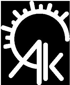 AK icon white