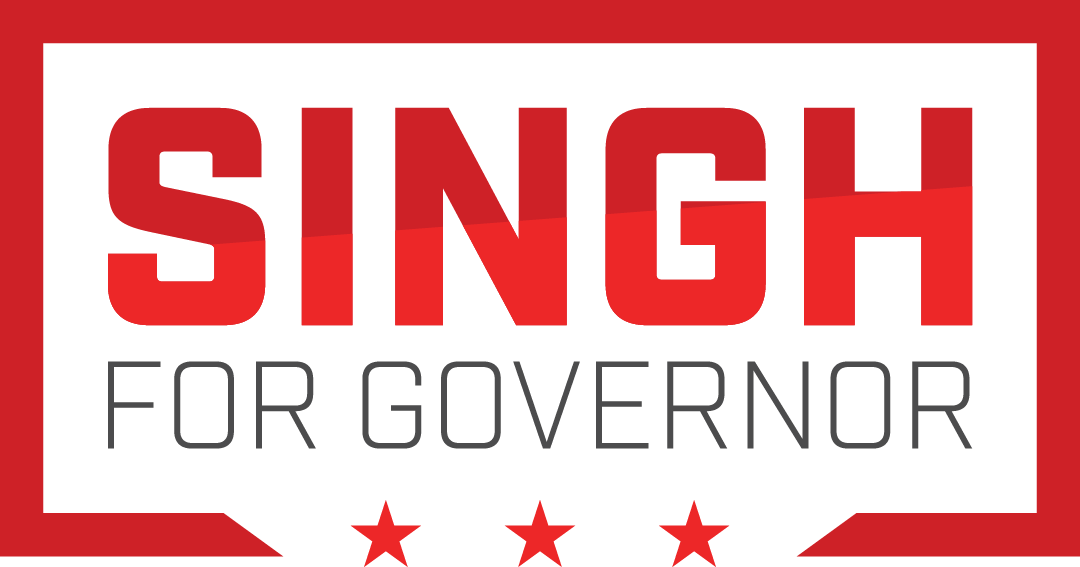 Singh for Governor