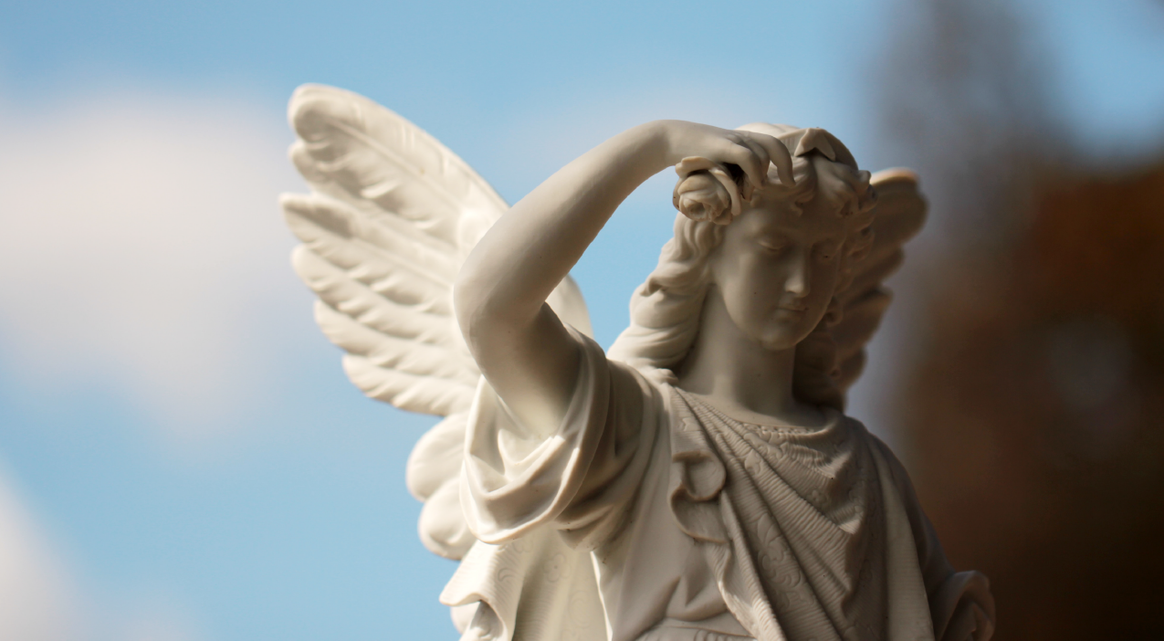 angel funeral