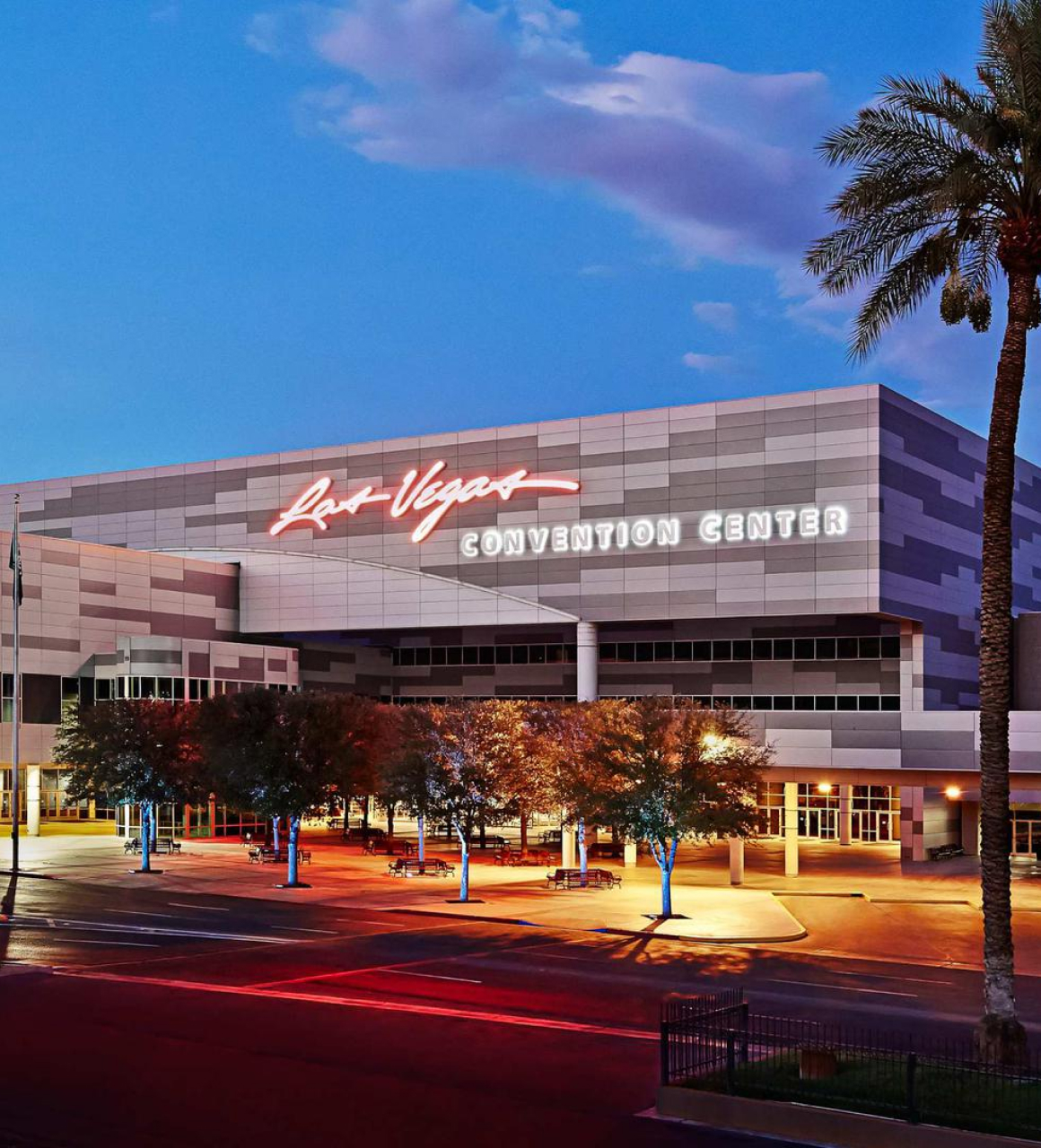 Las Vegas Convention Center exterior shot