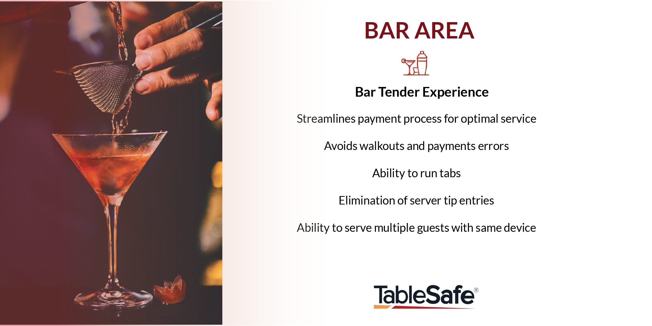 pay at the table feature