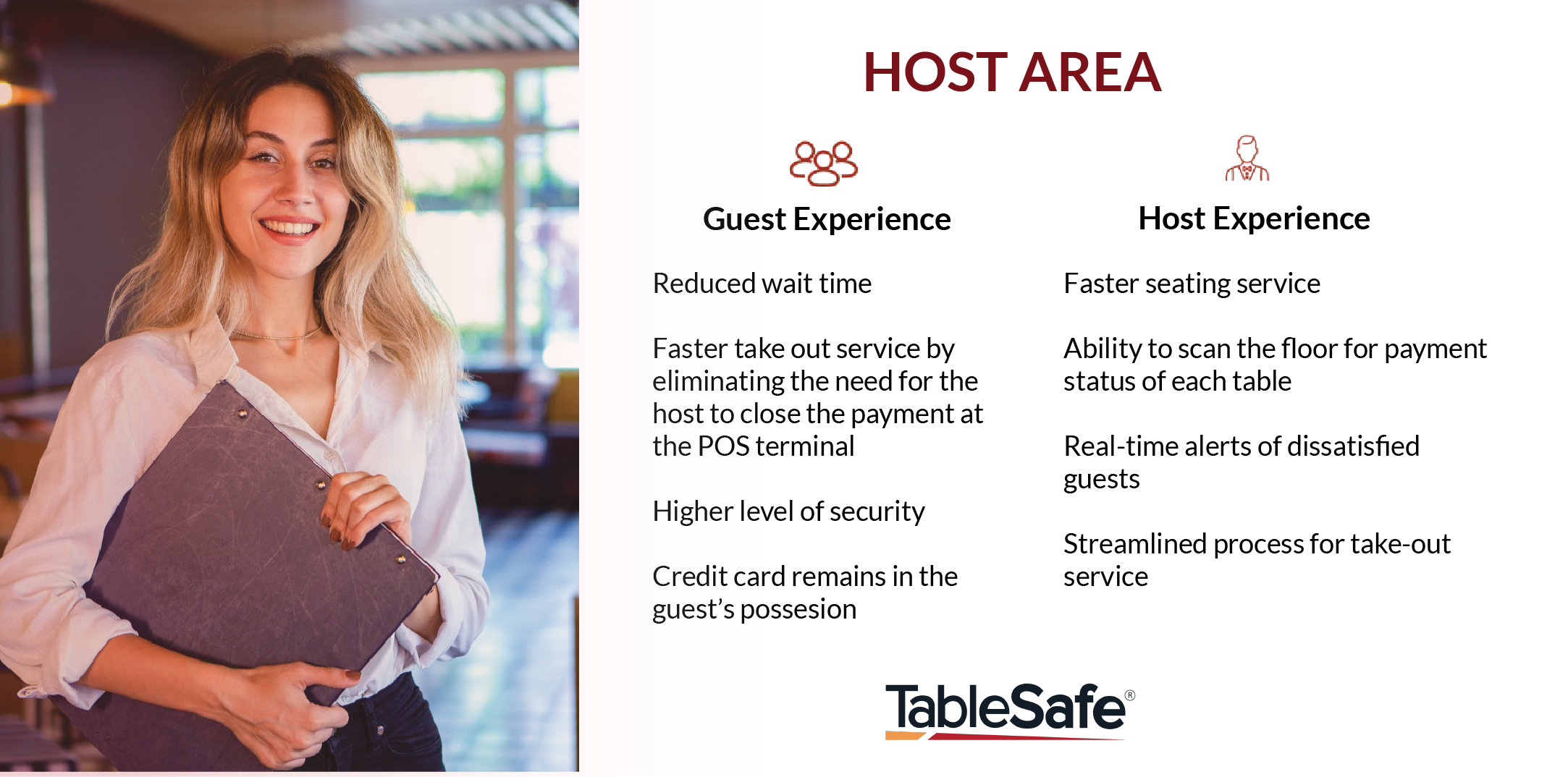 Streamlining Your Host Area With a Pay-at-the-Table Solution