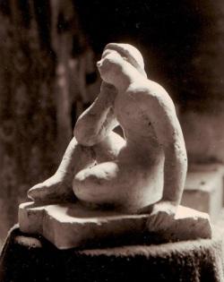 Woman statue resized