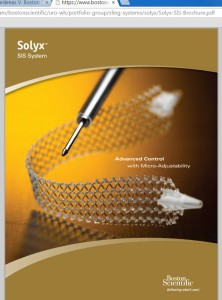 Solyx pelvic mesh by Boston Scientific