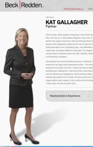 Kat Gallagher, Attorney for J&J