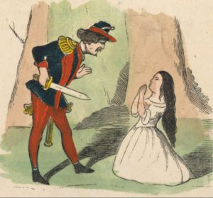 Grimm fairy tale, 1852, Snow White, WikiCommons