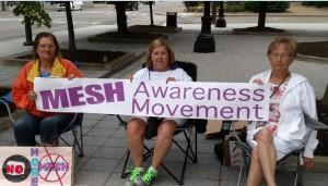 Mesh Awareness Movement in Charleston, WV, June 2015