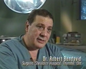 Dr. Robert Bendavid, Shouldice Hospital hernia surgeon