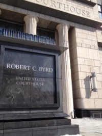Robert C. Byrd federal courthouse, Charleston WV