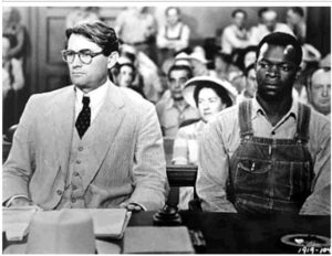 Atticus Finch and Tom Robinson, To Kill a Mockingbird, WikiCommons