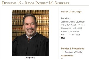 Judge Robert M. Scheiber,, 16th Judicial Circuit Court, Missouri