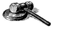 Judges mallet 200